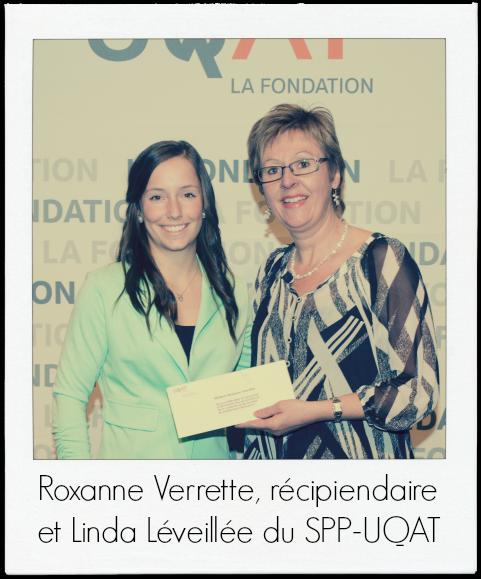 3Gala des bourses UQAT-2014_Roxanne Verrette