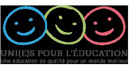Logo conférence Unis pour l'éducation