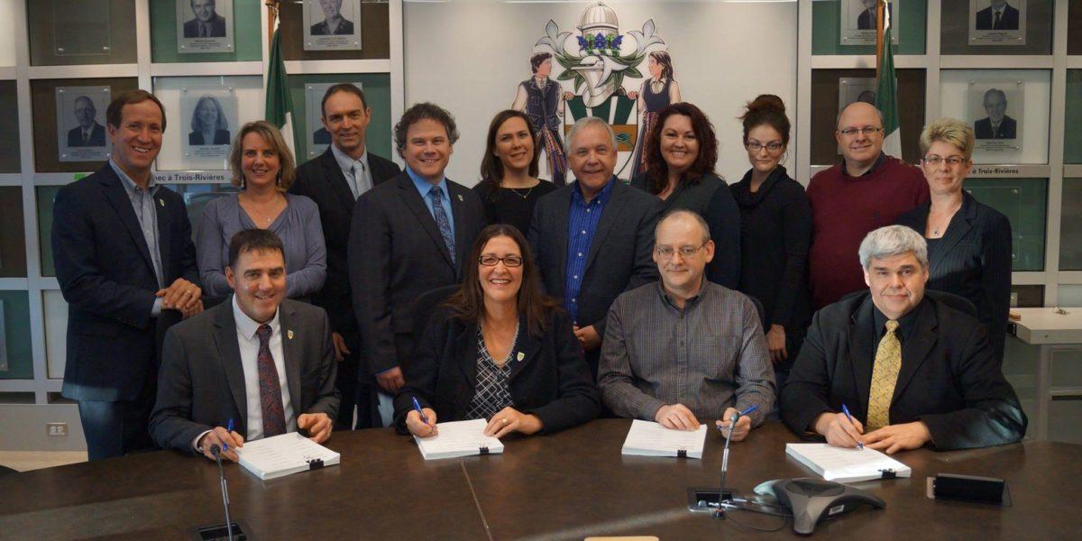 Convention collective signée à Trois-Rivières