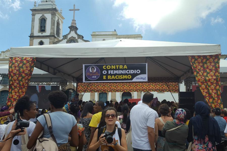 Forum social mondial 2018 au Brésil