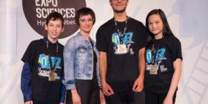 Médaillés d'or Expo-sciences 2018