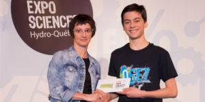 Ulysse Mckay, prix FPPU Expo-sciences 2018