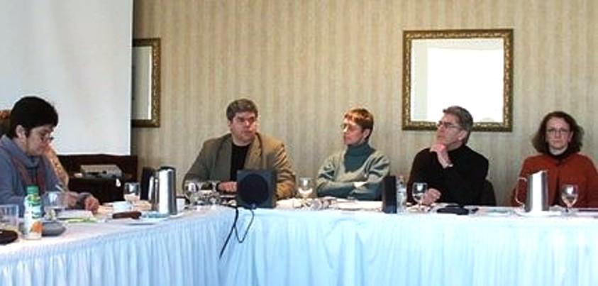 Discussion au conseil fédéral