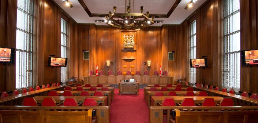 Salle d'audience de la Cour suprême